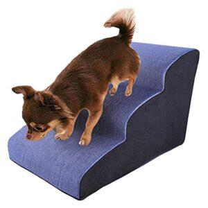 Échelle d'escalier d'escalier de rampe de chien Échelle d'escalier de compagnie Échelle de compagnie Laddergrey Cozy Pet Escalier Escalier en bois Escaliers for animaux de compagnie for grands chiens