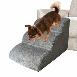 Escalier pour animaux de compagnie avec 3 marches, marches pour chien et chat Échelle de rampe pour animaux de compagnie Échelle amovible pour chiens Escaliers pour animaux de compagnie Escaliers