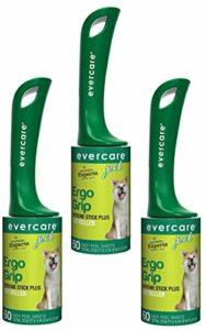 Evercare Lot de 3 Rouleaux de Cheveux pour Animaux de Compagnie