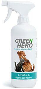 Green Hero Stop Pipi Produit Destructeur d'Odeurs et Détachant Nettoyant Biologique Enzymatique Prêt à l'Emploi contre l'Odeur d'Urine de Chat, de Chien, d'Excréments d'Animaux 500ml