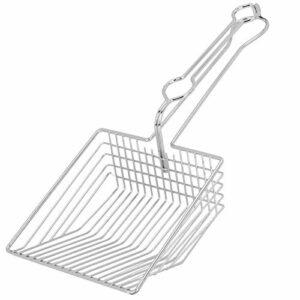 Pelle à litière pour chat – Durable – En métal – Outil de nettoyage pour litière pour chat