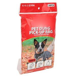 Sacs à déchets pour chiens, sacs pour animaux de compagnie pour la prévention des fuites de caca Deux couches verrouillent l'odeur particulière pour jouer avec votre chiot dans la(30 comprimés)