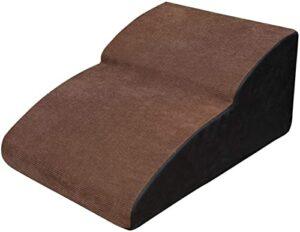 ZHBH Escaliers pour Animaux de Compagnie Rampe de Chien Marches de Chien pour lit et canapé, Escaliers de Rampe d'échelle pour Animaux de Compagnie en Coton à Fort Rebond Durable avec revêtement